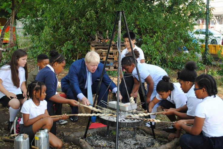 Thanks @MayorofLondon for visiting @Christchurchsw9. We'll always think of you as Boris the Brixton Breadstick Baker!