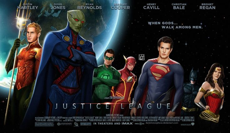 I love the Justice League and though I'm sort of disappointed in some of the actors that are playing, a lot of others listed will be fantastic, I think. If this is the actual cast list, that is...