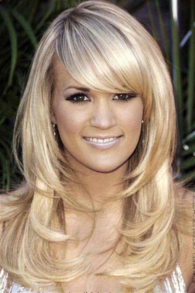 Long Layers w/side bangs: Hair Ideas, Haircuts, Hairstyles