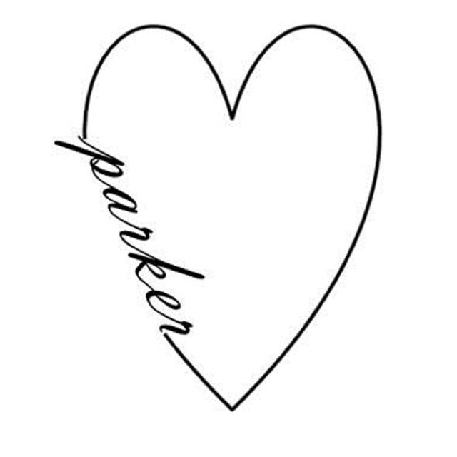 My next tattoo for my son... Parker <3