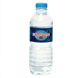 Bouteille d'eau de source Cristaline - bouteille de 50 cl