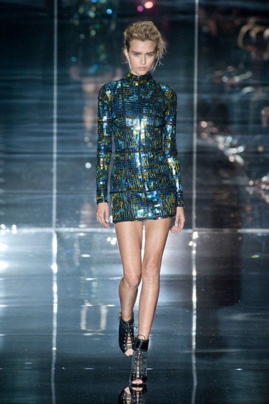 We expect to see this Tom Ford dress on a red carpet any second now. #LFW