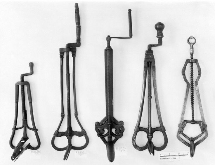 An array of 14th-16th century speculums