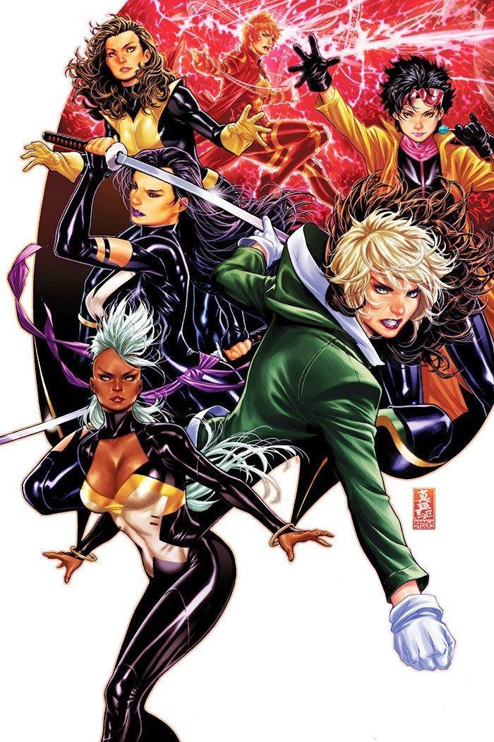 Women Of The X Men By Mark Brooks X Men Comics Psylocke
