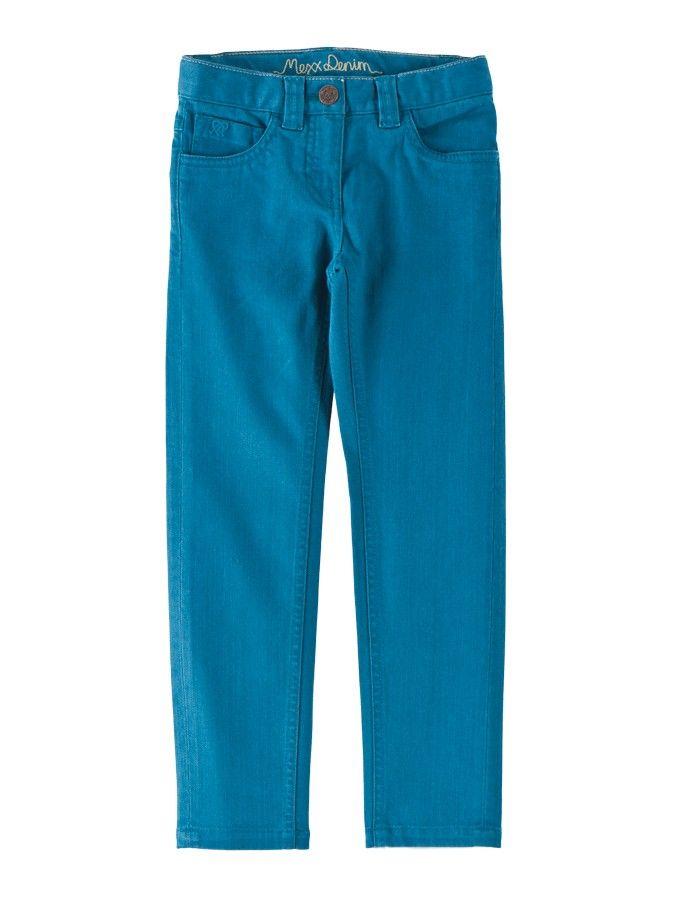 Spodnie dla dziewczynki w żywo niebieskim kolorze Mexx 68 PLN  #sale #limango #spodenki #ubrania #dziecięce