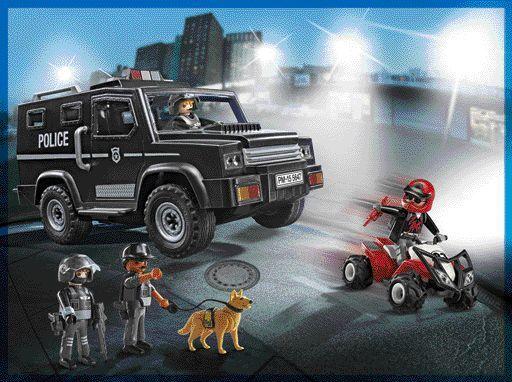 Playmobil Αστυνομική Ομάδα Καταδίωξης (5647) | Moustakas- 39.99