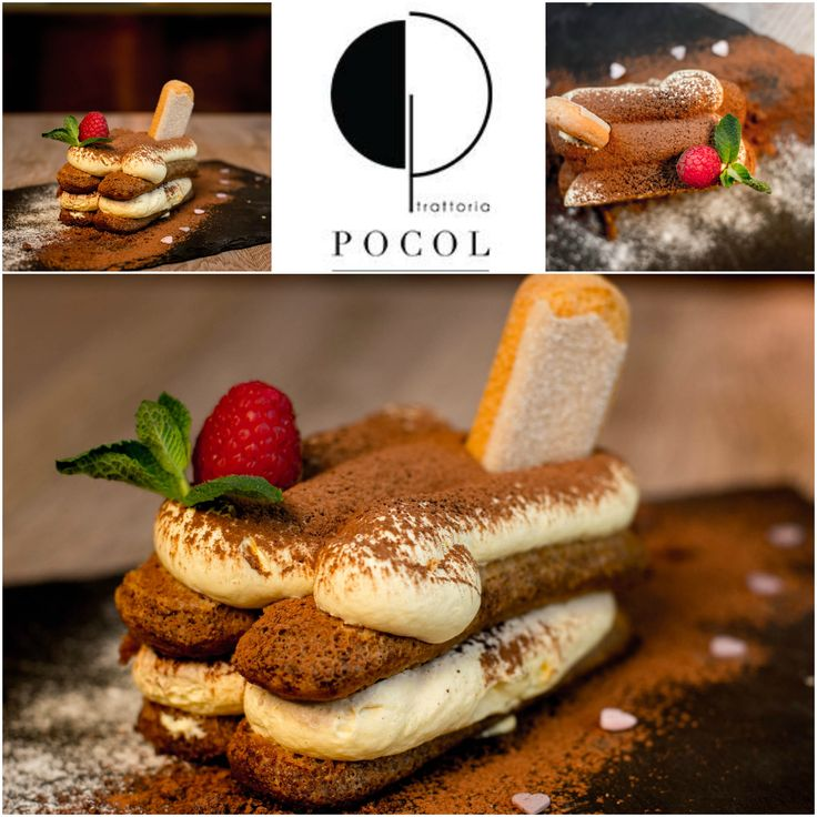 #food #yum #dinner #lunch #fresh #tasty #delish #eating #foodpic #eat #hungry #trattoriapocol #restaurant #italian #desert #tiramisu