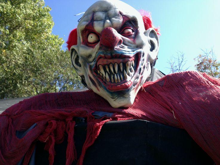 halloween scary clown - Scary Clown Halloween Decorations