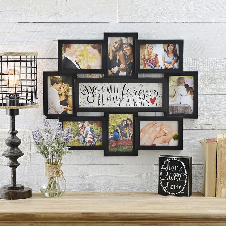 Capture every moment with your loved one and put them in our Forever Be My Always 8-Opening Collage Frame. Retell your love story and enjoy this collage frame now for only $11. Sale price ends 2/15.
