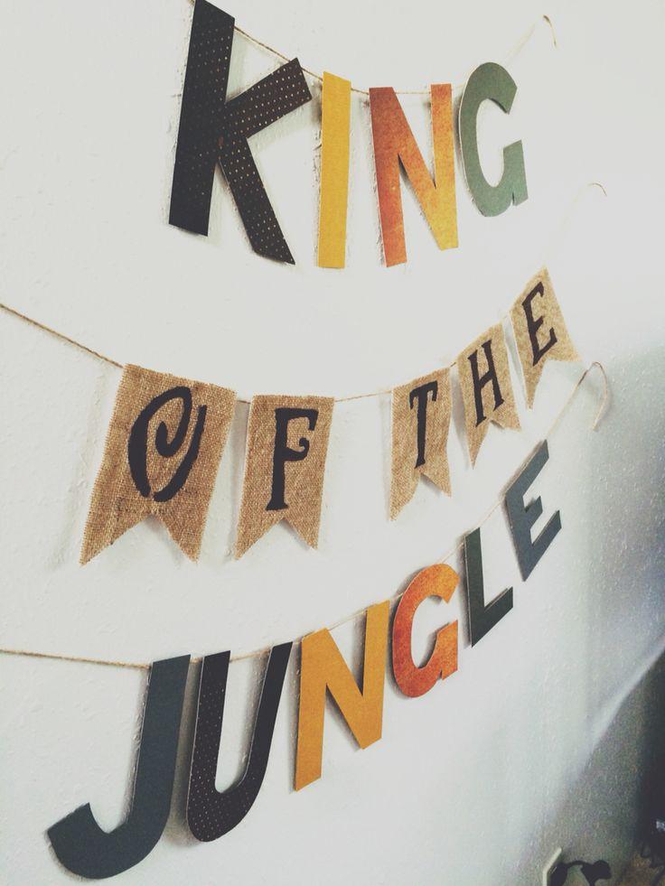 King of the jungle nursery, King of the jungle ideas, baby boy nursery!