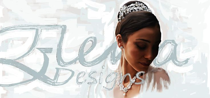 Elena Designs specialize in Bridal Headpieces- Veils and Jewelry