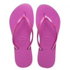 Havaianas - in several colors...of course!