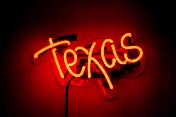 Texas Neon Sign | Noble Gas Industries | Affordable Neon Home Decor