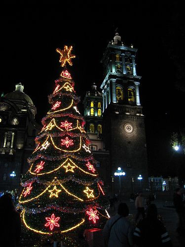 Christmas in Mexico. Photo: Mely Wilcox. Pinned from http://www.almightydad.com/holiday/christmas-in-mexico