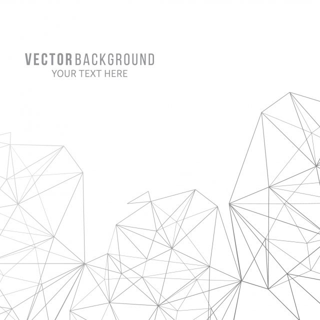 مضلع خطوط على خلفية بيضاء خلفية نبذة مختصرة هندسي Png والمتجهات للتحميل مجانا White Background Text Background