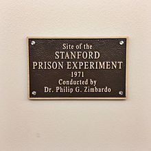 Stanford prison experiment - Wikipedia  The experiment has also been used to illustrate cognitive dissonance theory and the power of authority.