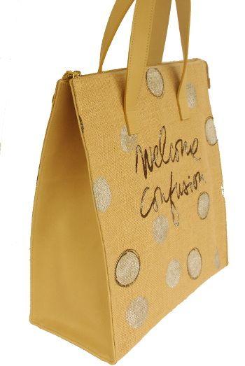 Welcome Love Shopper Parvares Bag www.parvares.com
