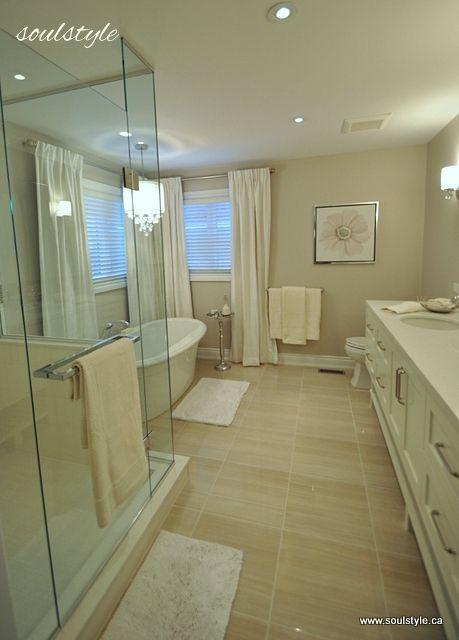 Gorgeous Bathroom Remodel remodelaholic.com #bathroom