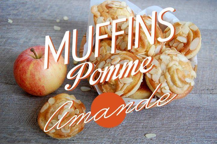 Depuis un mois, avec le changement de saison,  j'ai une envie de Muffins à la pomme !  J'adore les pommes,  j'en mange au moins 2 par j...