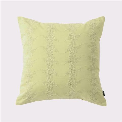 【¥2,500-】450x450 リズボン クッションカバー ライトグリーン(ライトグリーン) Francfranc(フランフラン)公式サイト|家具、インテリア雑貨、通販