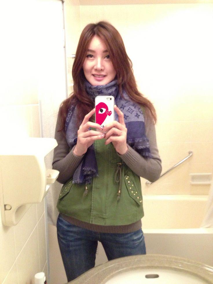 Toilet selfy