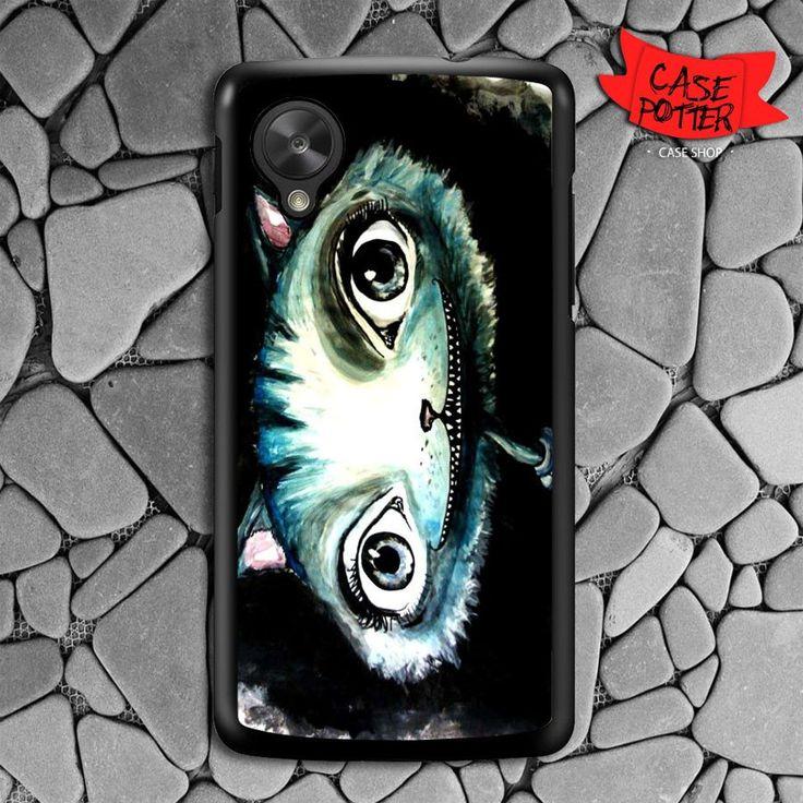 Chesire Cat Art Nexus 5 Black Case
