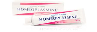 Homeoplasmine | French homeopathic ointment for skin irritations.  Double duty as makeup primer and healing acne.