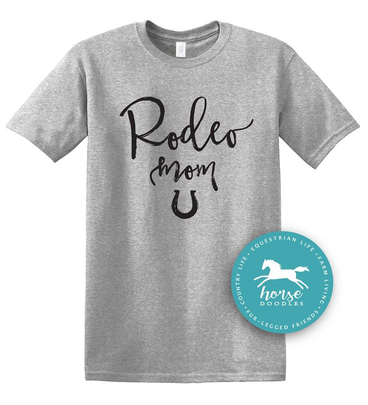Rodeo Mom | Fun Shirt | Rodeo Event | Barrel Racing | Farm Shirt | Horse Shirt | Country Girl | *New* Softstyle Unisex T Shirt |  Soft by HorseDoodles on Etsy https://www.etsy.com/listing/509939482/rodeo-mom-fun-shirt-rodeo-event-barrel
