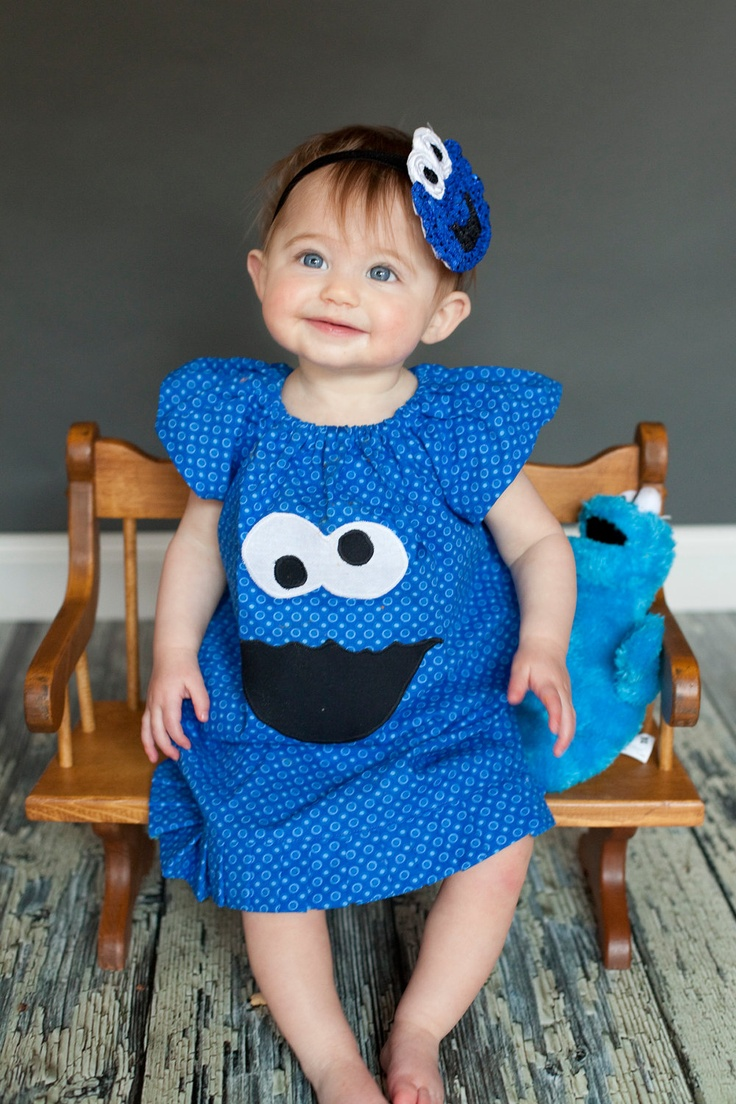 Cookie Monster Dress (would also be cute tunic w/ leggings)
