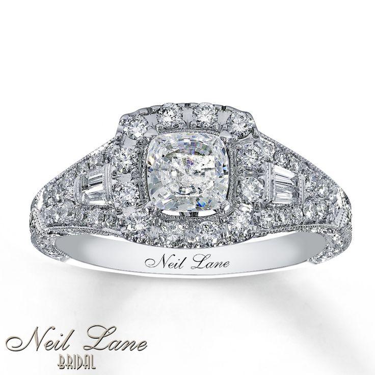 Cushion Cut DIamond Ring from Neil Lane Bridal Kay