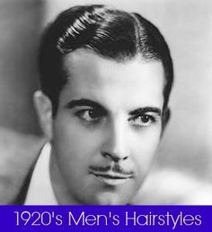 All about men's hairstyles in the 1920s with advice for styling hair today. http://www.vintagedancer.com/1920s/1920s-mens-hairstyles-and-products-history/