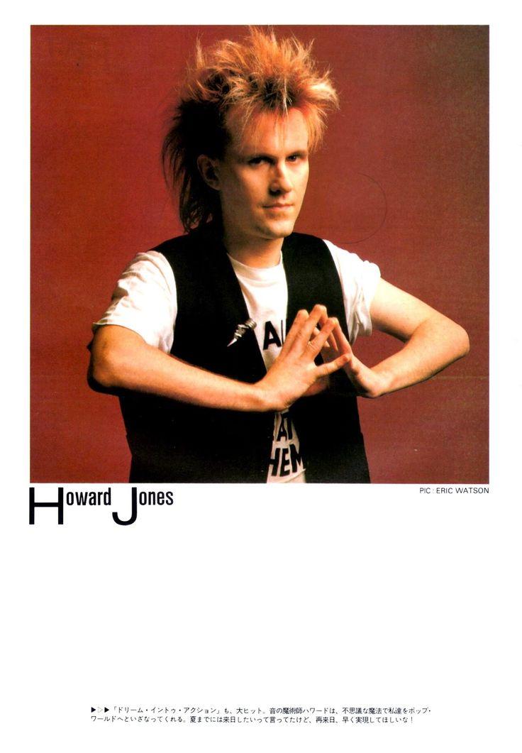 Lyric mr jones lyrics : The 25+ best Howard jones ideas on Pinterest | Tears for fears ...