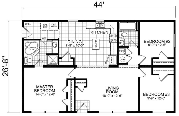 chion redman manufactured mobile homes home floor