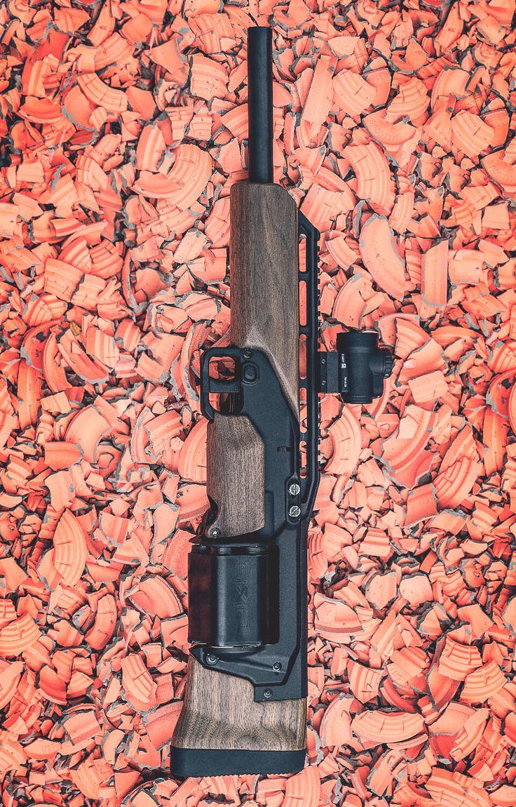 "john-paul-jonesing-for-liberty: "" coffeeandspentbrass: "" cerebralzero: "" sdkfz142: "" SIX12 Modular Shotgun | Crye Precision | SIX12™ is a 6-round, 12-gauge, cylinder-fed shotgun that can be mounted to..."