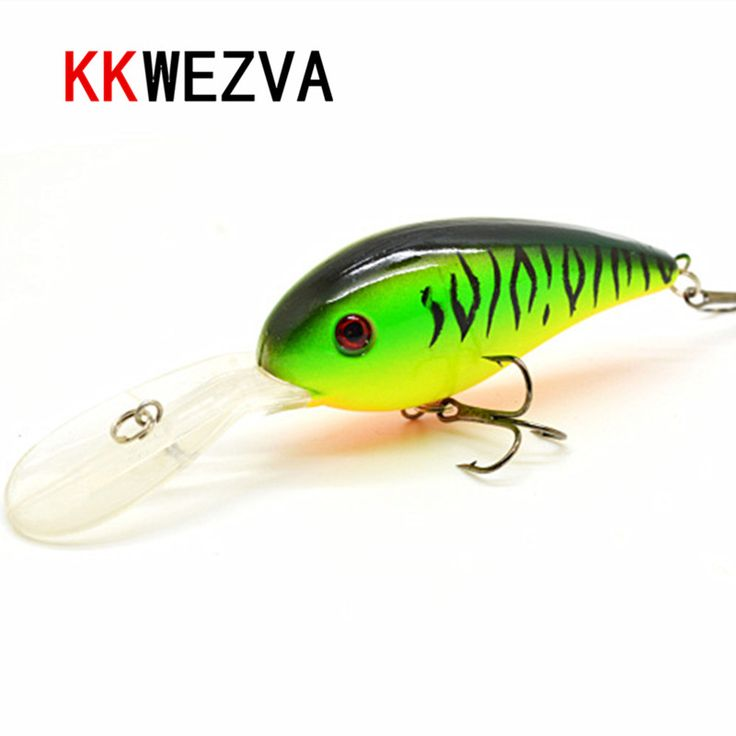 KKWEZVA 15G 10.5cm Big Temptation Fishing Lures Minnow Crank Bait Crankbait Bass Tackle Treble Hook bait wobblers fishing  #Affiliate