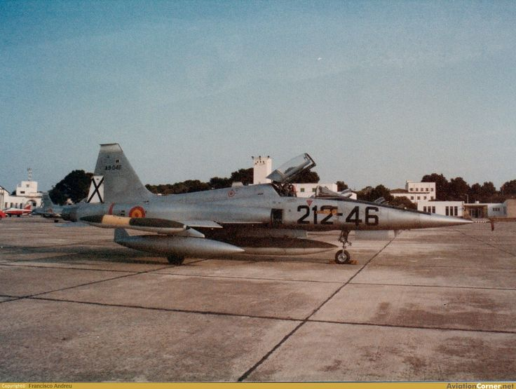 Northrop F-5B Freedom Fighter built by CASA Spain for the  Spanish Air Force. ALA 21.