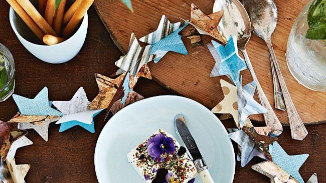 Christmas cookie cutter garland
