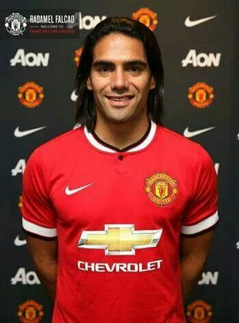 .Welcome to the theatre of dreams Radamel Falcao :)
