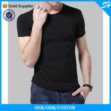 Mens Fashion Slim Fit Plain Black T Shirt O Neck  best seller follow this link http://shopingayo.space