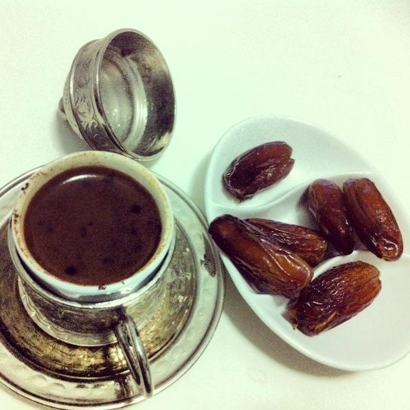 Turk kahvesi & hurma