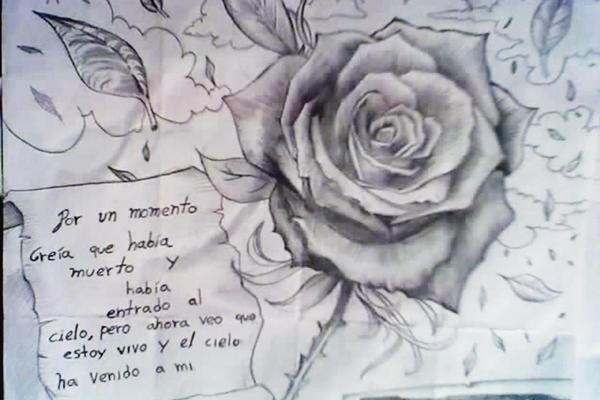 Best Dibujos De Rosas A Lapiz En 3d Image Collection