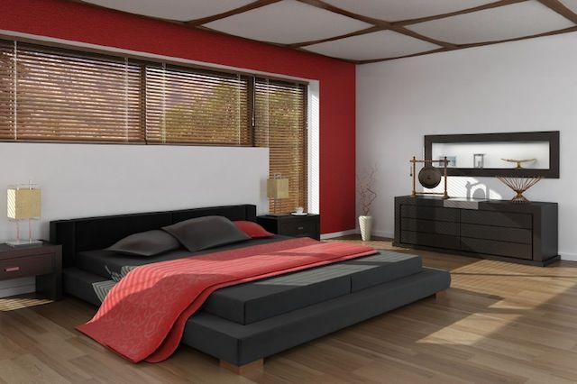 Design Ideas King Size Bed Mattress With Red Comforter