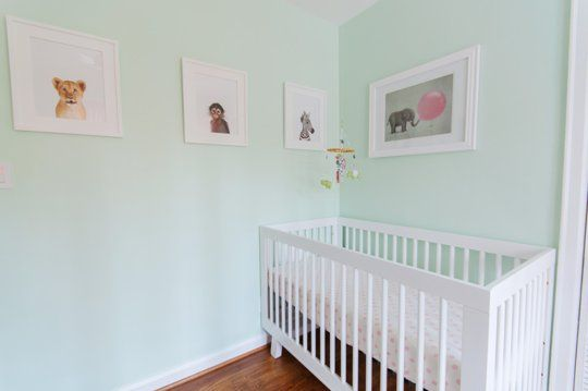 Gemma S Sweet Amp Minty Nursery In 2019 Nursery Paint