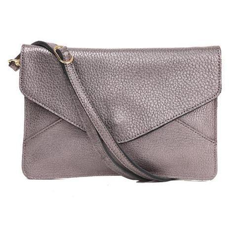 Goyo Leather Envelope Clutch Bag