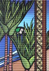 Sarah C Design Outdoor corrugated iron outdoor art