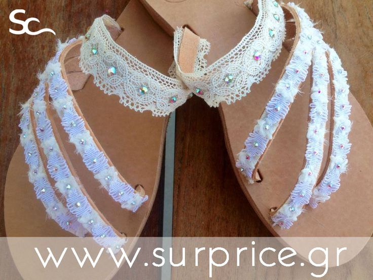 Χειροποίητο Δερμάτινο Γυναικείο Σανδάλι /  Real Leather... Handmade... Sandals!!!