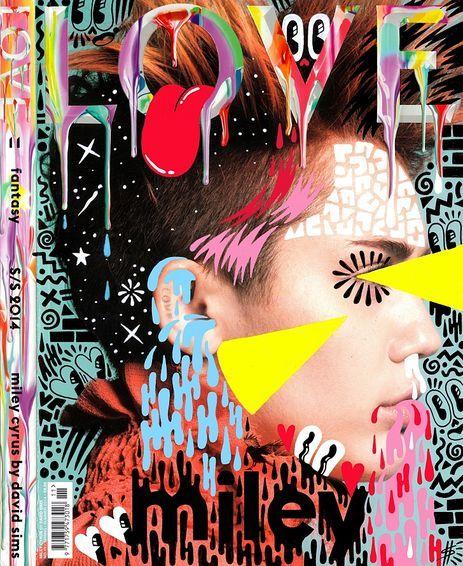 Hattie Stewart - Love Magazine - Miley Cyrus (Spring/Summer 2014) / Prints / No Walls Gallery, Brighton