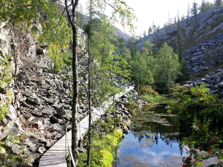 The Isokuru Gorge in Pyhä-Luosto National park
