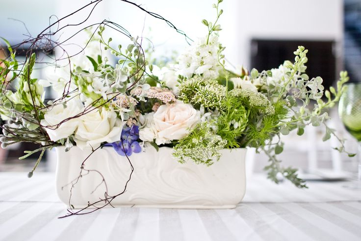 Flowers in the Foyer Kari & Barry