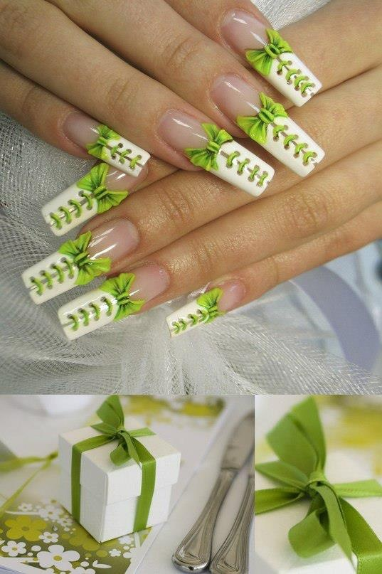 The details on these nails are amazing! I wouldn't wear this design but the art is incredible